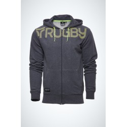 RUGBY DIVISION HOODIE ZIPPED MID
