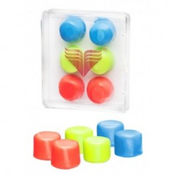 TYR YOUTH MULTICOLORED SILIC. EAR PLUGS