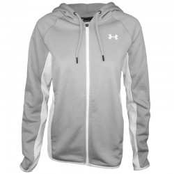 UA ARMOUR FLEECE FZ CR