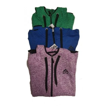 2ENTY6 ACTIVE KNIT FLEECE JACKET