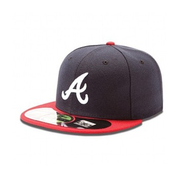 AUTHENTIC ATLANTA BRAVES ON FIELD HOME 59FIFTY