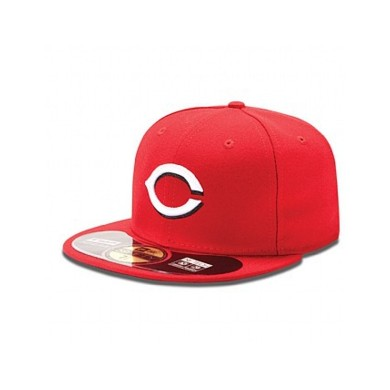 AUTHENTIC CINCINNATI RED ON FIELD GAME 59FIFTY