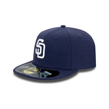 AUTHENTIC SAN DIEGO PADRES ON FIELD HOME 59FIFTY