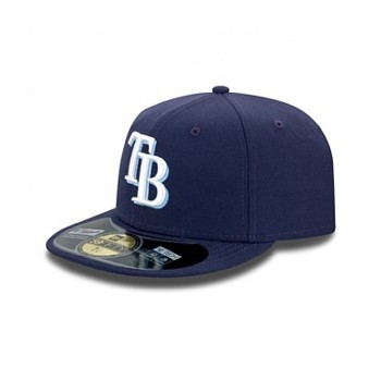 AUTHENTIC TAMPA BAY RAYS ON FIELD GAME 59FIFTY