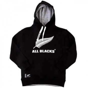 ALL BLACKS KIDS HOODY RUGBY