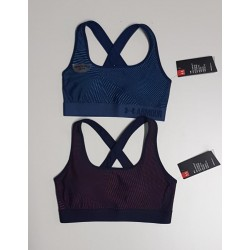 UA CROSSBACK EMBOSSED BRA